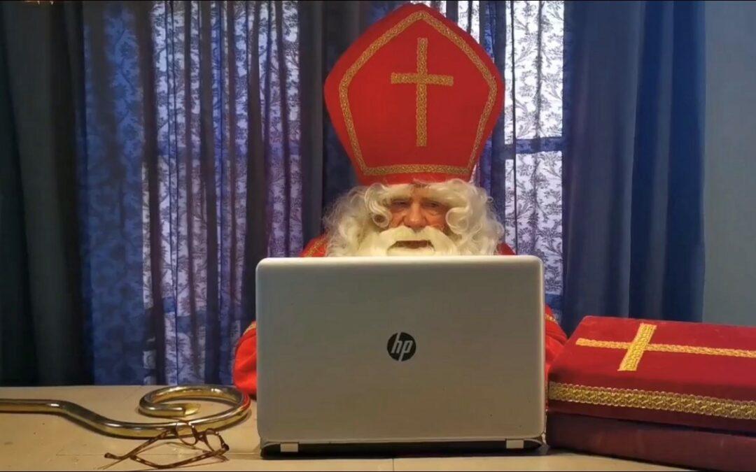 Sint stuurt digitale post